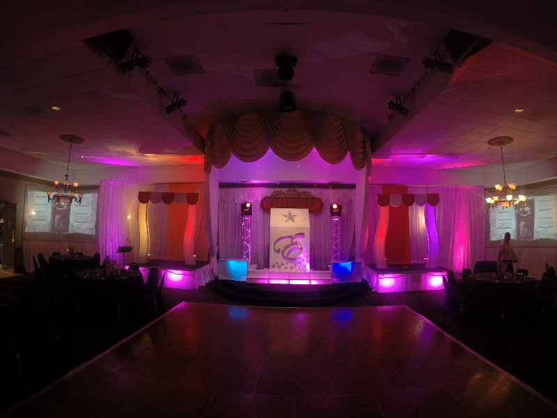 circus Stage For Quinces, Paris Quince Stage, power parties, miami quinces, Quince Stages, Quinceaneras, Miami Partys, Sweet 16\'s, 15 Teens, ispdj