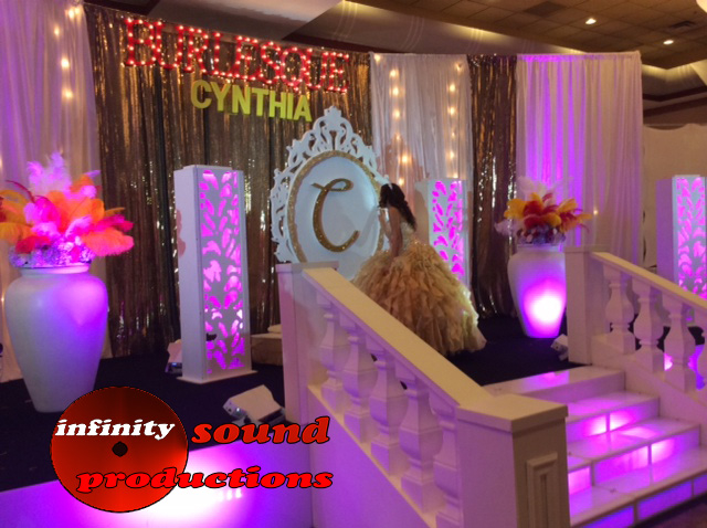 Burlesque Stage For Quinces, Paris Quince Stage, power 96, miami quinces, Quince Stages, miami quince stages  Quinceaneras, Miami Partys, Sweet 16\'s, 15 Teens, ispdj