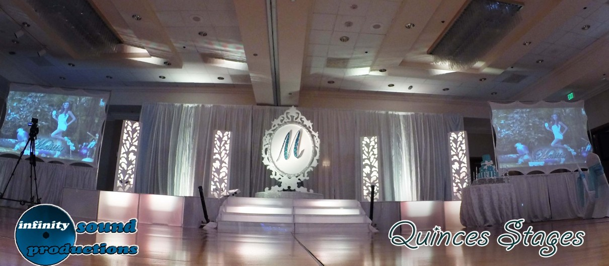Stage For Quinces, Miami Quinces, Quince Stages, Quinceaneras, Miami Partys , Sweet 16